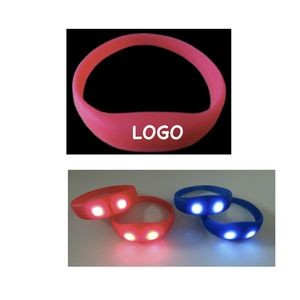 Silicone LED Light up Bracelet