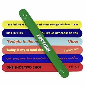 Silicone Soft Slap Bracelet For Party