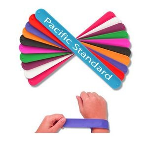Party Silicone Slap Bracelets