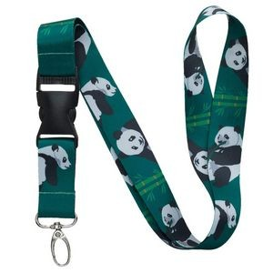 "3/4"" Full Color Dye-Sublimation Print Lanyard"